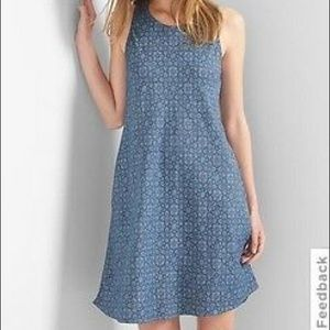Gap Tencel Print Swing Dress